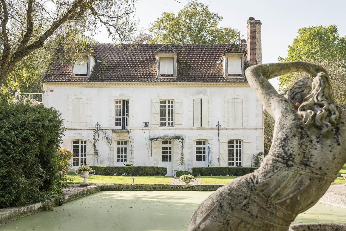 L'habitation principale du moulin à vendre
