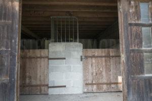 Boxe à chevaux du domaine à vendre