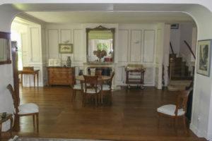 Salon de la grande demeure à vendre en Seine-et-Marne