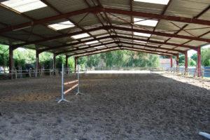 Carrière à chevaux de la propriété équestre à vendre en seine-et-marne