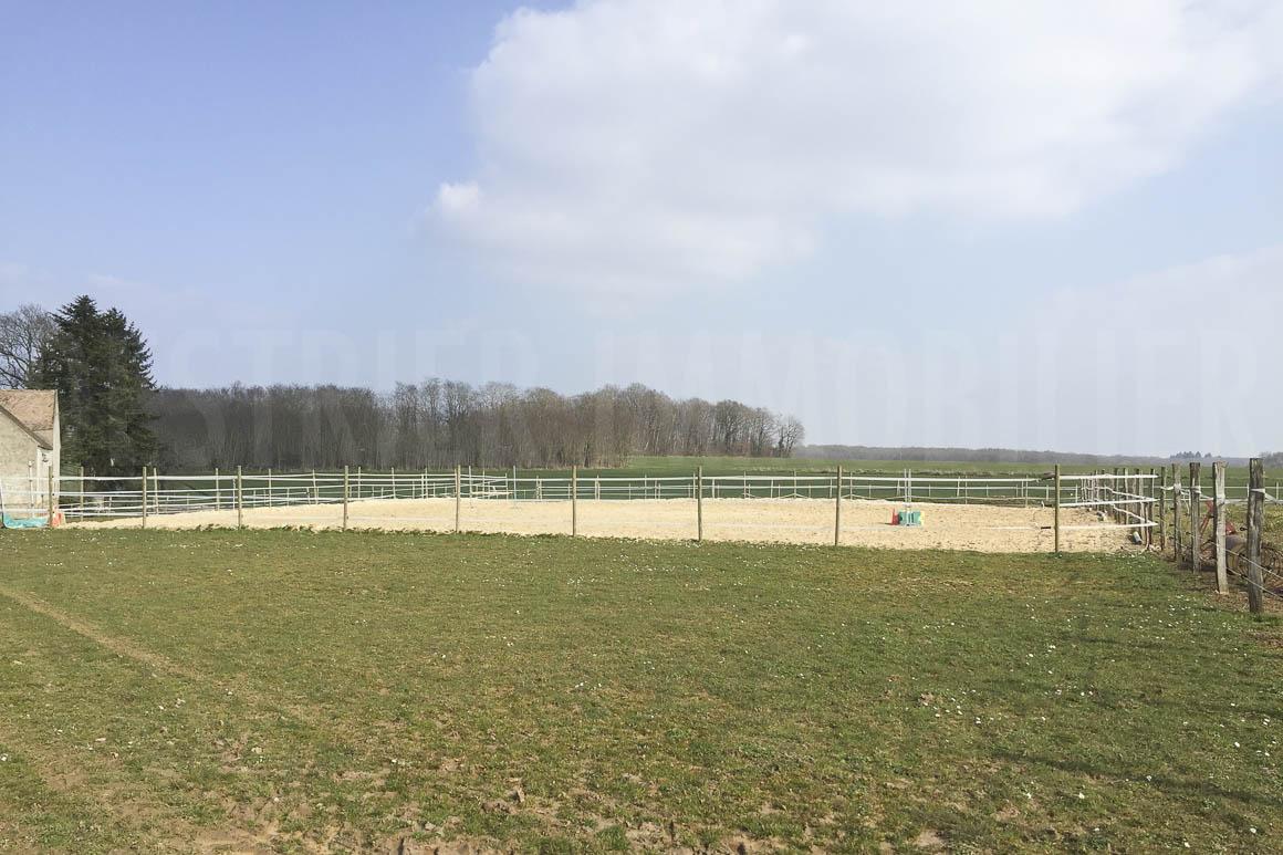 Ferme équestre et ses 2 hectares de terrain