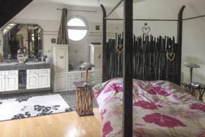 Suite parentale de l'habitation du domaine à vendre proche Paris