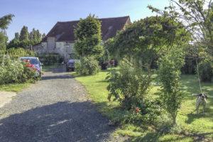 Accès et habitation de la grande propriété à vendre en seine-et-marne