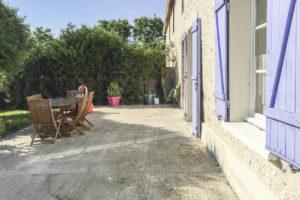 Terrasse habitation de la grande propriété à vendre en seine-et-marne