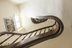 Escalier de la demeure du domaine à vendre