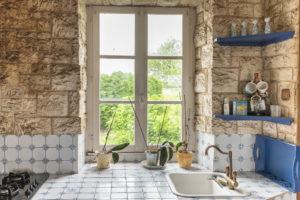 fenêtre de la cuisine, vue sur jardin