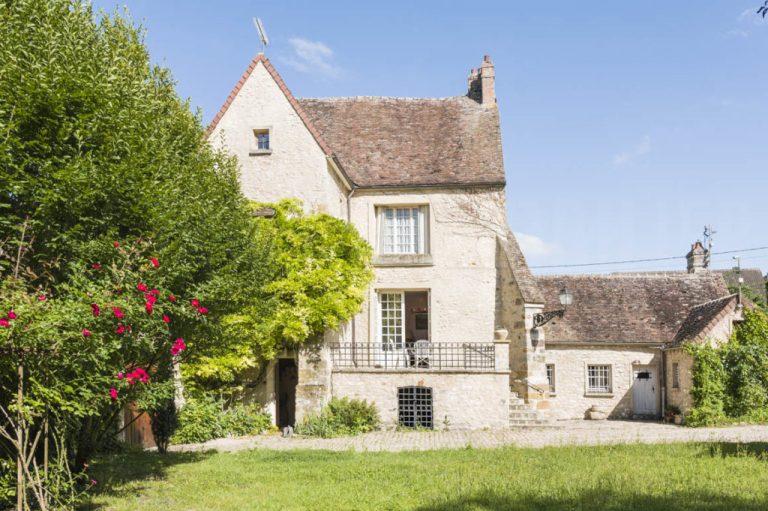 Domaine et sa grande demeure en Seine-et-Marne
