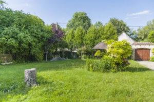 Jardin de la propriété à vendre en seine-et-marne