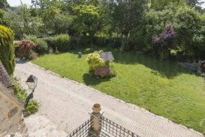 Jardin de la propriété à vendre