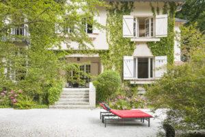 Terrasse et maison propriété à vendre