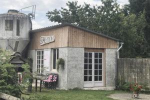 Club house de la ferme équestre
