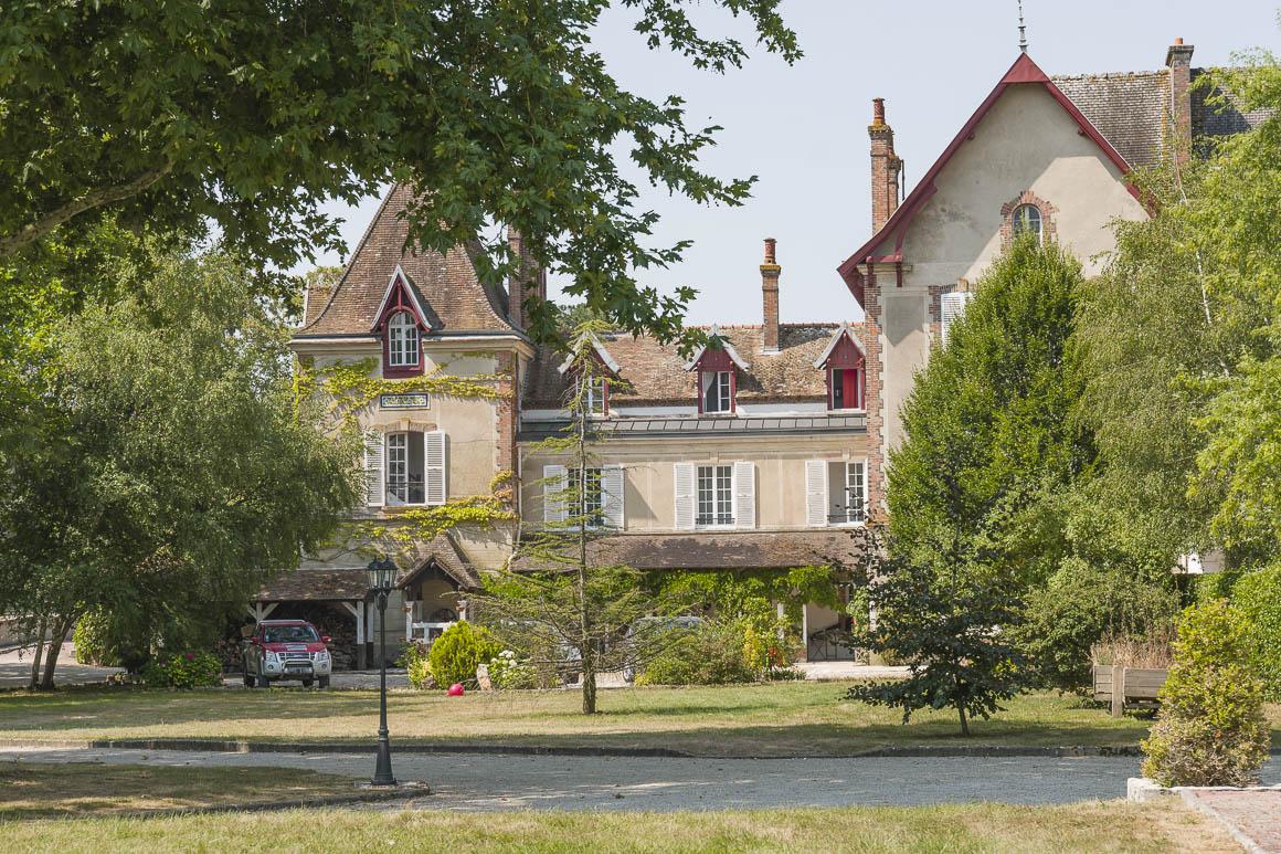 Façade manoir à vendre Seine-et-Marne