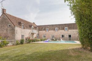 Habitation et piscine