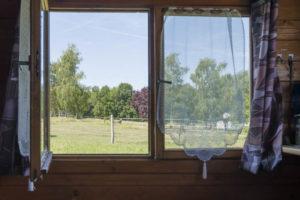 Fenêtre vue paysage
