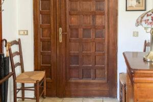 Porte entrée - Cuisine - Accès terrain