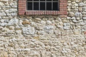 Mur corps de ferme