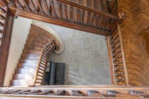 Escalier de la belle demeure à vendre