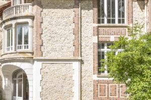 Façade belle demeure à vendre 77