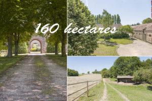 Corps de ferme 160 hectares