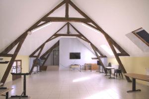 Une salle de réception
