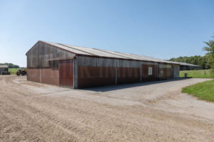 bâtiment salle de traite