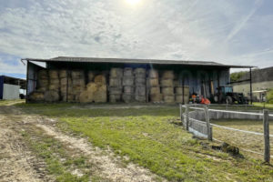 Bâtiment stockage